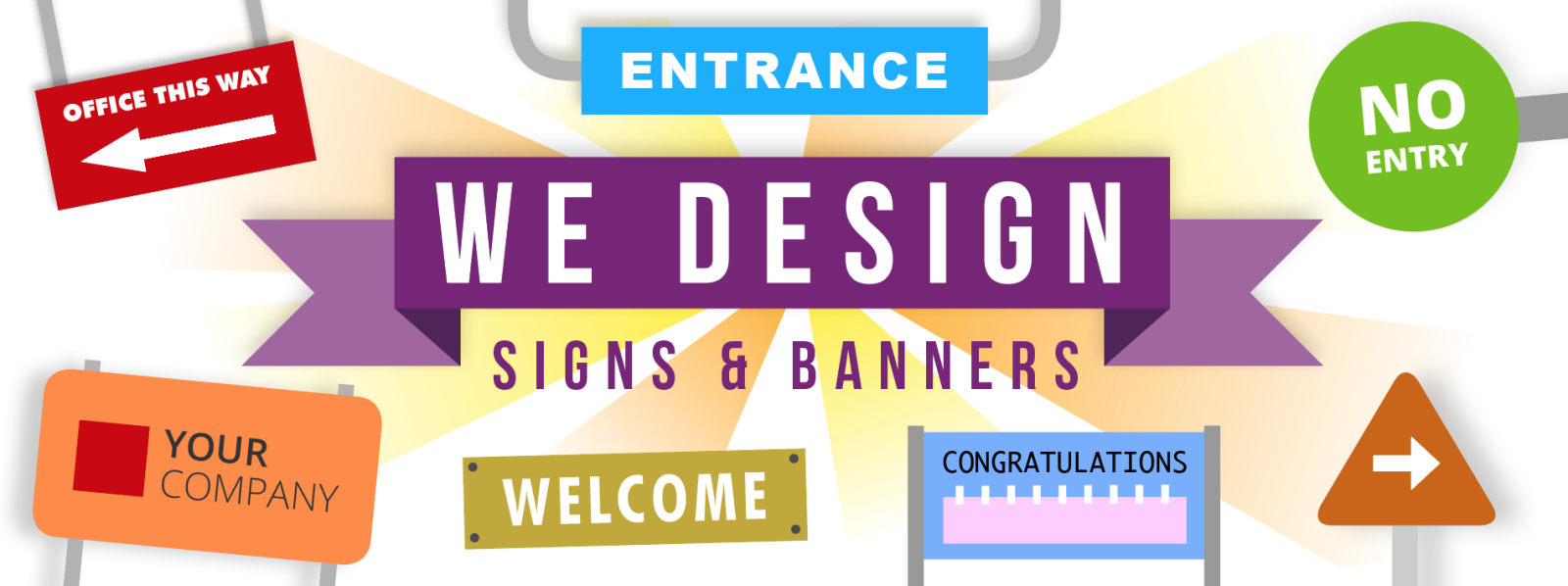 signs and banner service in Chorley
